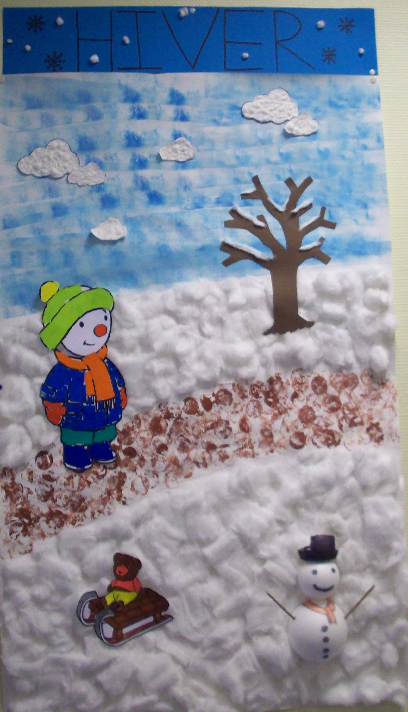 Activit maternelle t 39 choupi en hiver le blog parti 39 prof - Activite hiver maternelle ...