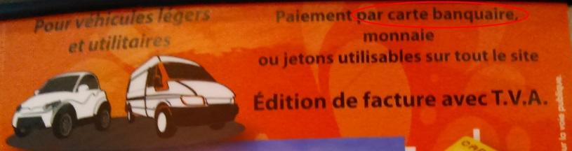 Pires fautes de français Carte banquaire