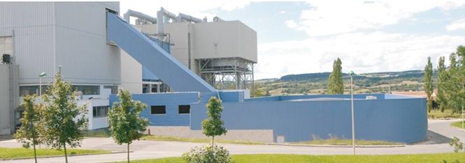 Principe fonctionnement usine incinération