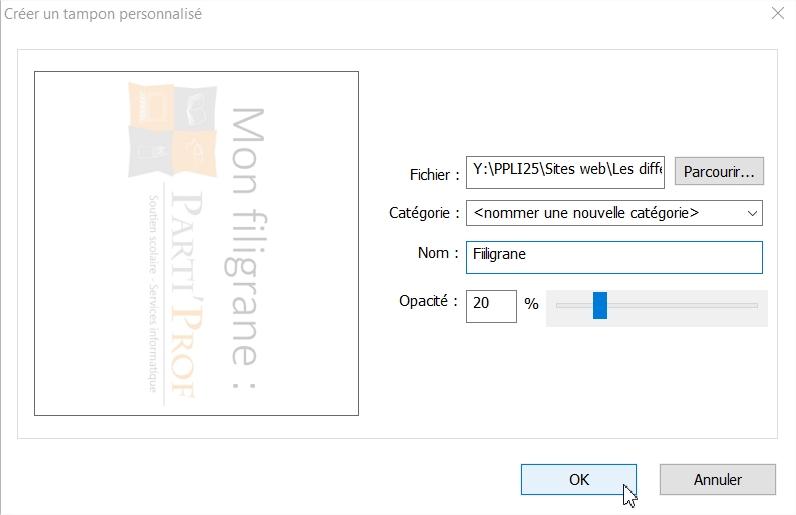 Mettre un filigrane sur un PDF gratuitement