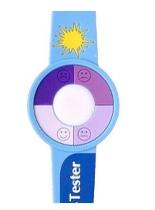 Principe de fonctionnement des bracelets testeurs d'UV