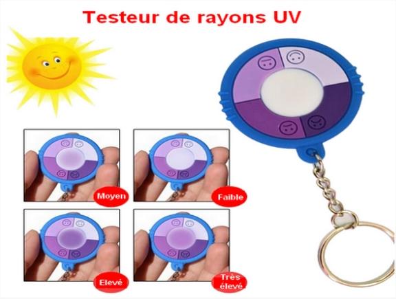 Composition des bracelets testeurs d'UV