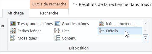 Affichage détails pour copie de fichiers